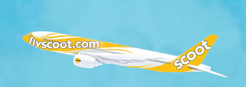 Scoot Low-cost Airline