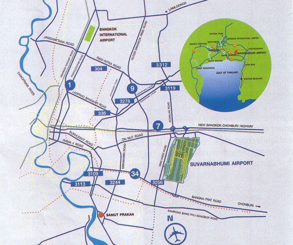 Suvarnabhumi Map