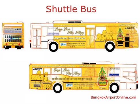 Bangkok Suvarnabhumi Airport Transportation