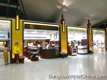 Bangkok Airport OTOP and Royal Projects Shops