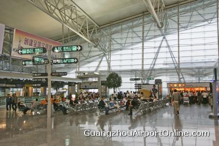 Guangzhou Airport Waiting Area