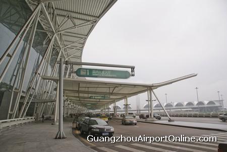 Guangzhou Airport Terminal Exterior