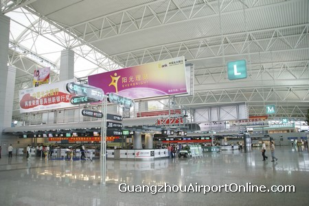 Guangzhou Airport Check-in Counters