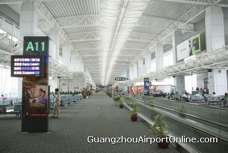 Guangzhou Airport Departure Gates