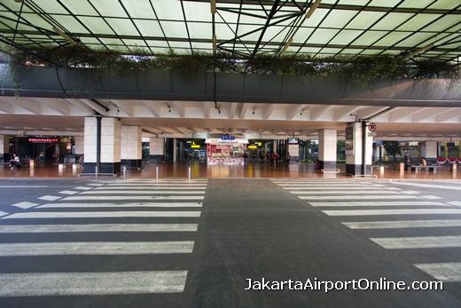 Soekarno-Hatta Airport Arrivals Area