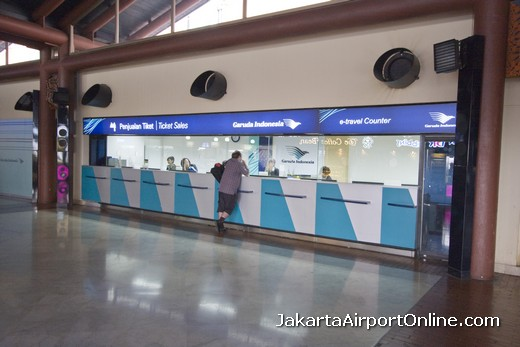 Garuda Indonesia Counter