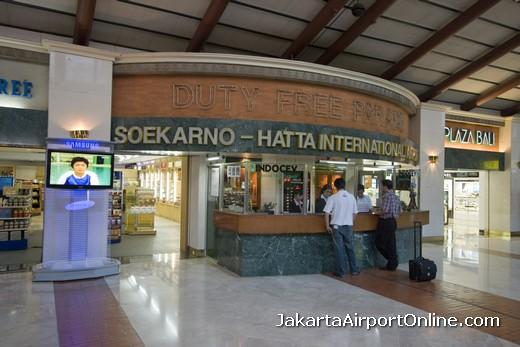 Jakarta Airport Duty Free