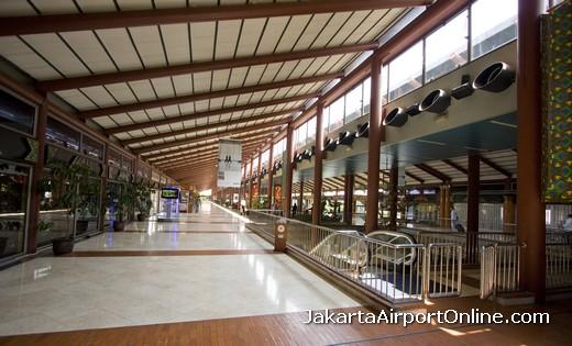 Jakarta Airport Departures Area