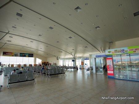 Departure Gates at Nha Trang Airport