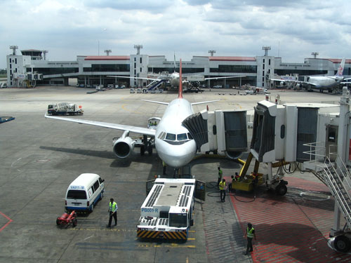Bangkok Don Muang Airport Terminal