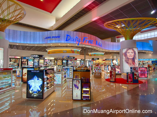 Don Muang Airport Duty Free Shopping