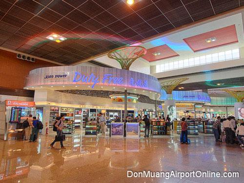 King Power Duty Free at Don Muang Airport