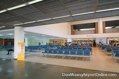 Departures Waiting Area