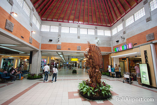 Bali Airport Terminal Interior