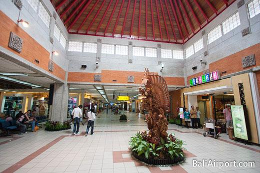 Bali Airport Terminal Interior