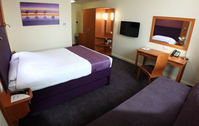Holiday Inn Rooms Room at Premier Inn Dubai