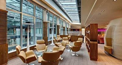 Hilton Frankfurt Airport Lounge