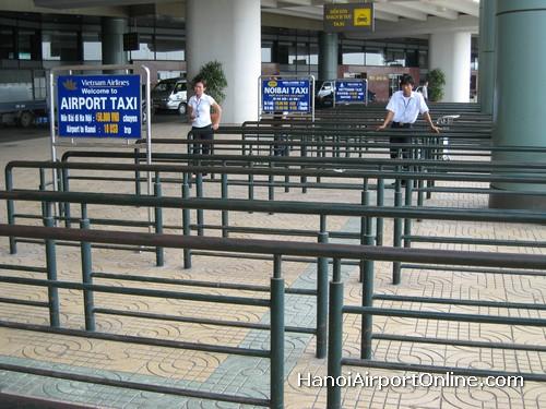 Hanoi Noi Bai Airport Taxi Stand