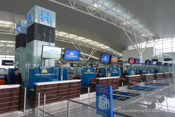 Hanoi Airport Check-in Counters