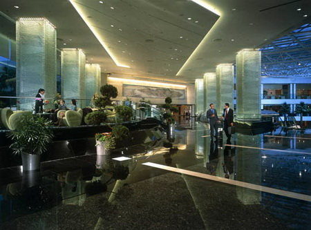 Lobby Regal Airport Hotel Hong Kong
