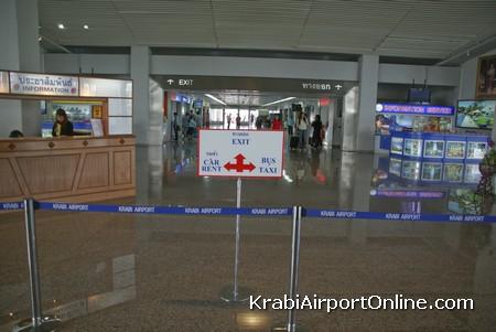 Krabi Airport Terminal Interior