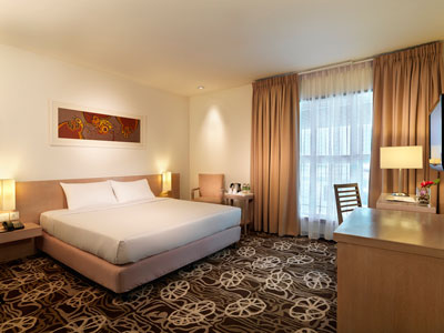 Airside Hotel KL Airport Room Interior