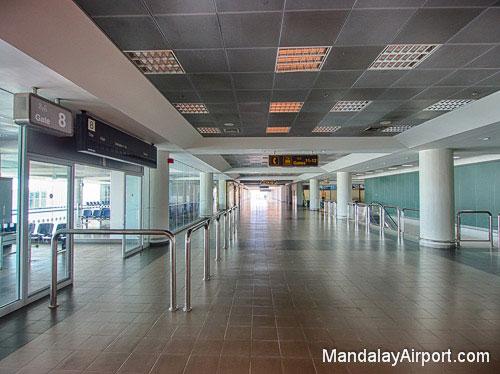 Departure Gate at Mandalay Airport