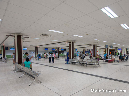Male Airport Maldives Check-in Counters