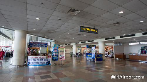 Miri Airport Arrivals