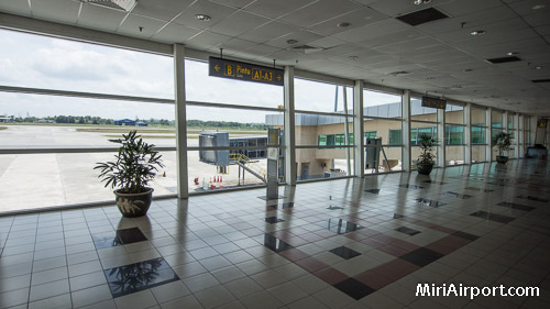 Miri Airport Departure Gate