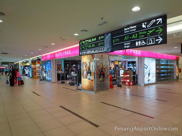 Penang Airport Duty Free Shopping