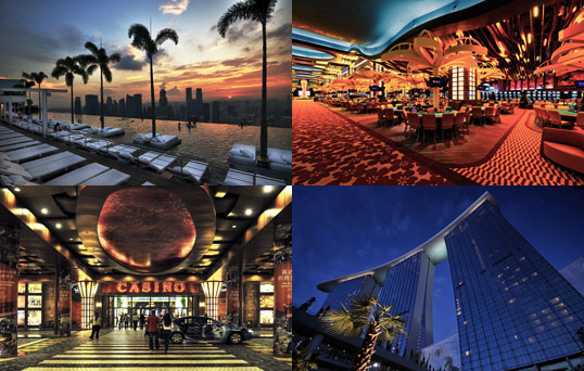 Singapore Casino Hotels - Marina Bay Sands - Resorts World Sentosa