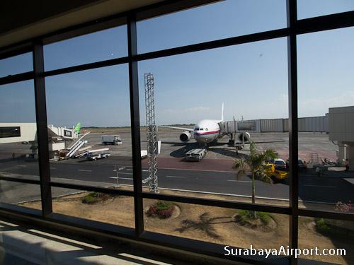 Surabaya Airport Arrival