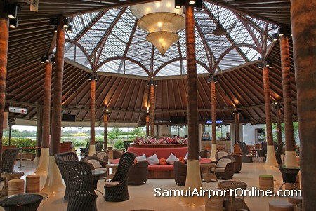 Samui Airport Departure Gate