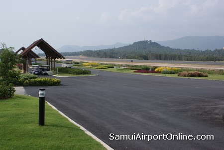 Samui Airport Runway and Departure gates