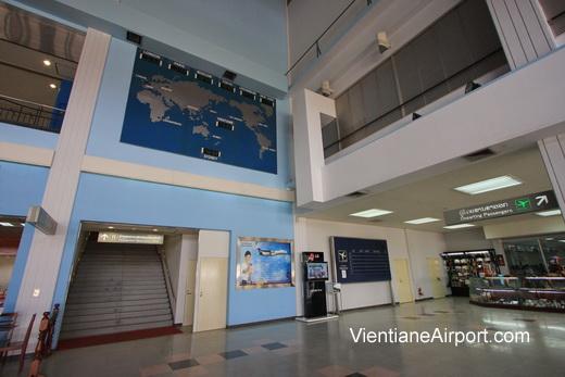 Vientiane Airport Terminal Interior